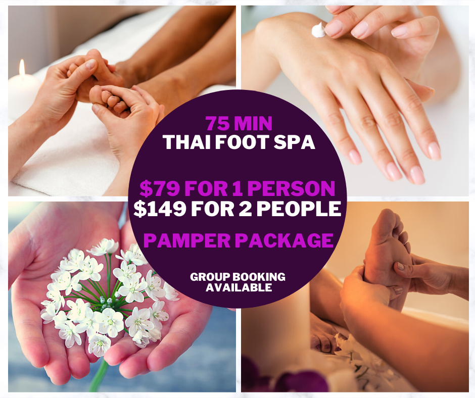 75 min Special Pamper Package