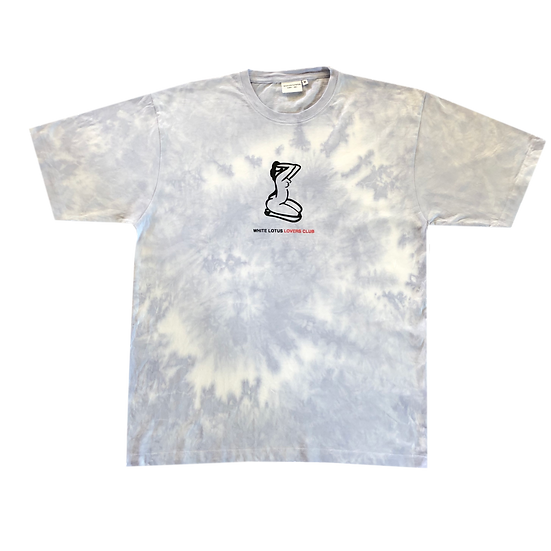 'Lovers Club' T-Shirt - Tie Dye