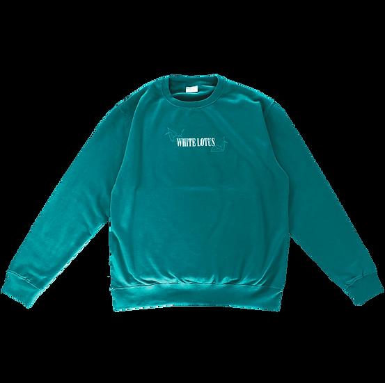 'Origami' Sweatshirt - Jade