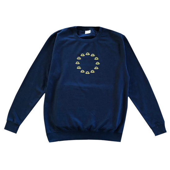 'Euro Club' Sweatshirt - Navy