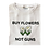 Thumbnail: 'Buy Flowers Not Guns' T-Shirt - White
