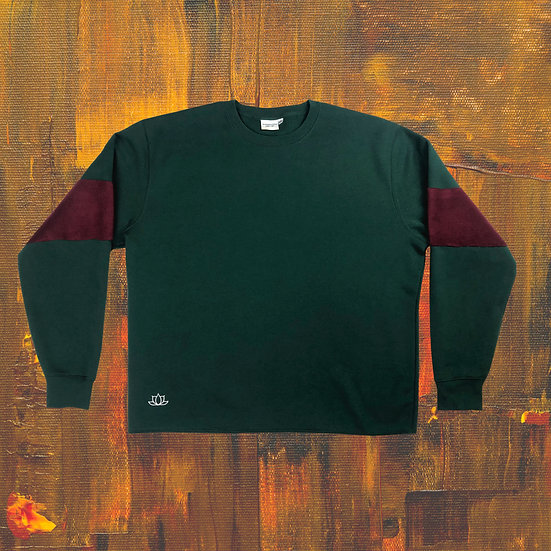Oversized Sweatshirt - Forest Green