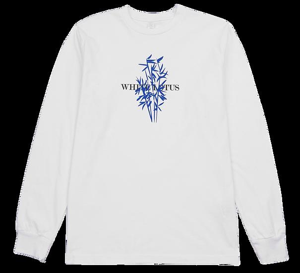 'Blue Bamboo' Long Sleeve T-Shirt