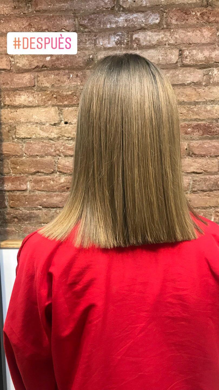 Corte (cabello largo)