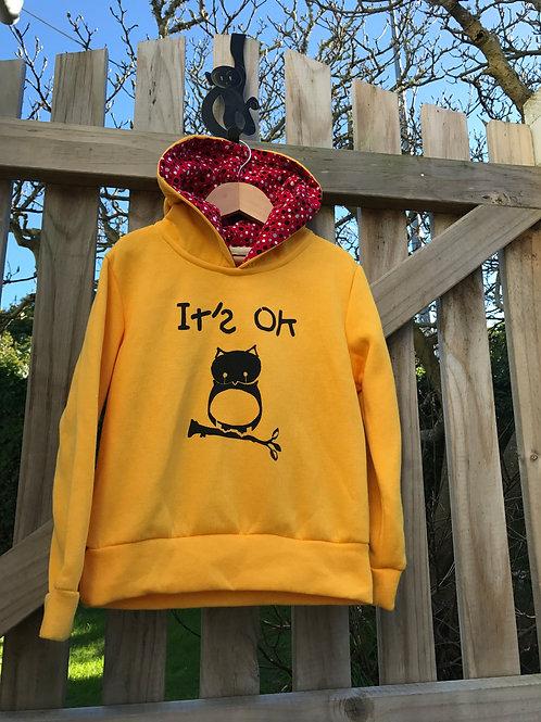 It's OK owl - Size 6