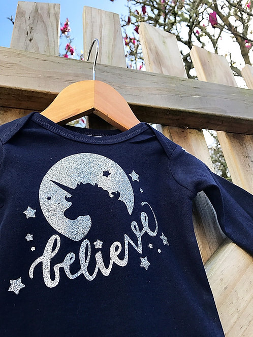 Believe in the Unicorn - SIZE 3-6mth