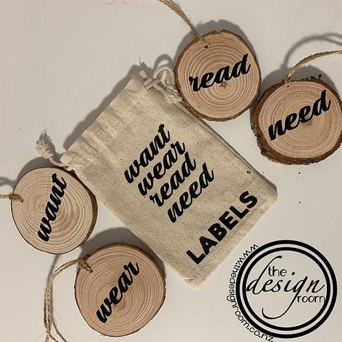 Want | Wear | Read | Wear tags