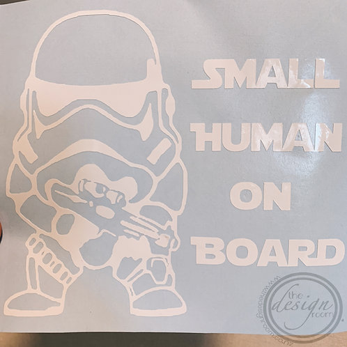 Star Wars 'Baby on board' decal