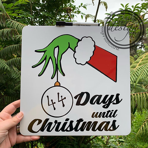 Days until Christmas | Grinch