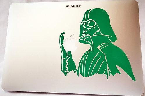 Darth Vader Macbook decal