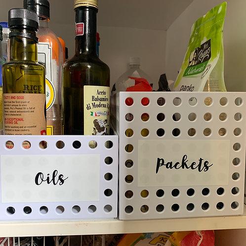 Kitchen sticker decals