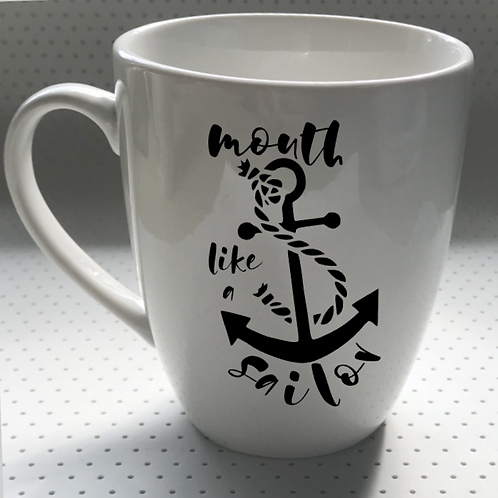 Mouth like a sailor | DECAL