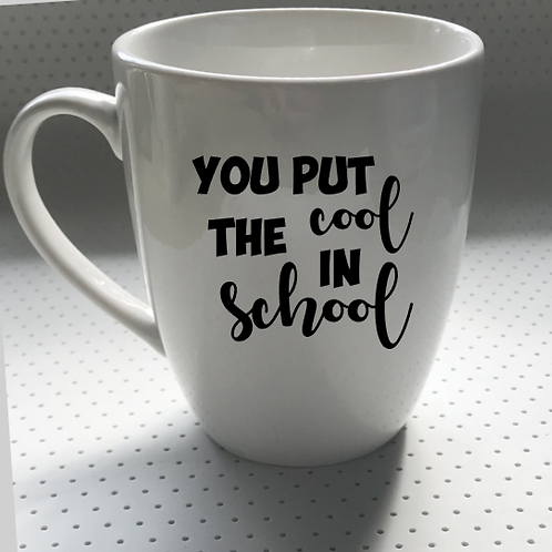 TEACHER APPRECIATION MUGS