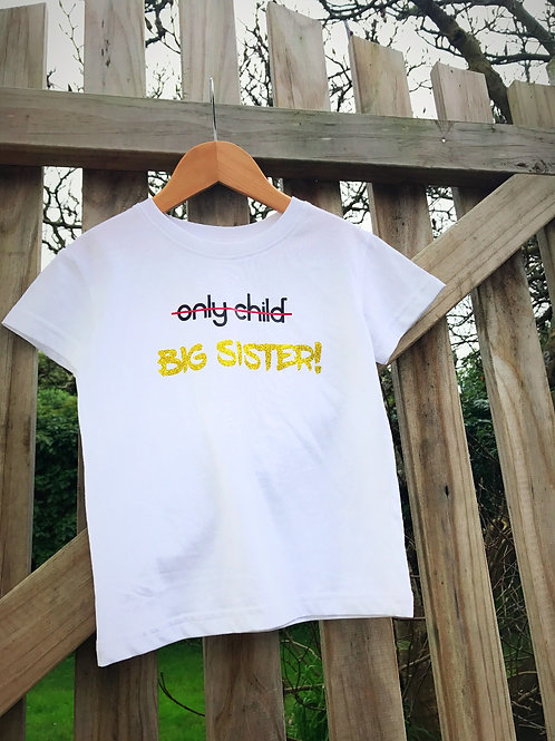 Only Child | Big Sister - SIZE 3