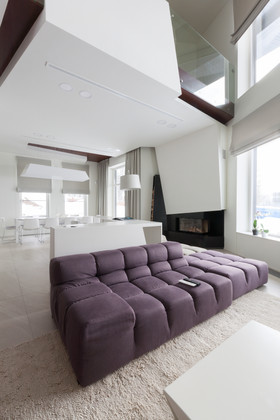 Private interior for suburban house.
