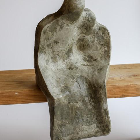 Couple shelf sculpture