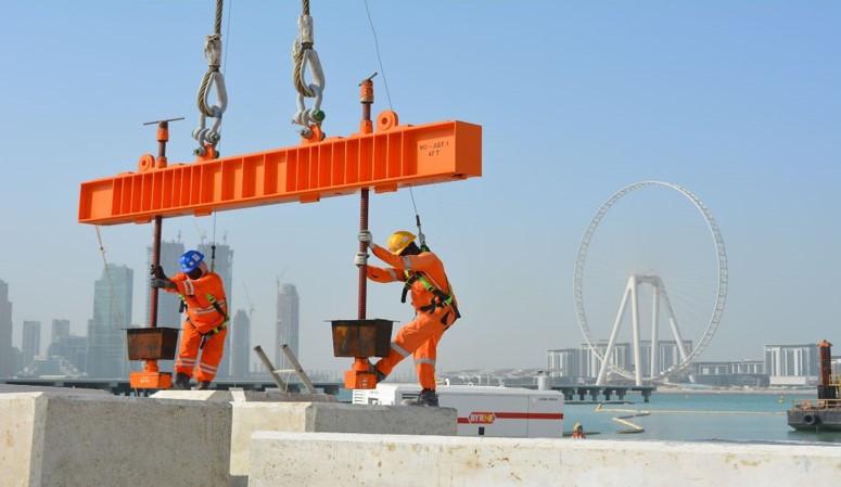 Dubai Harbour - marine works