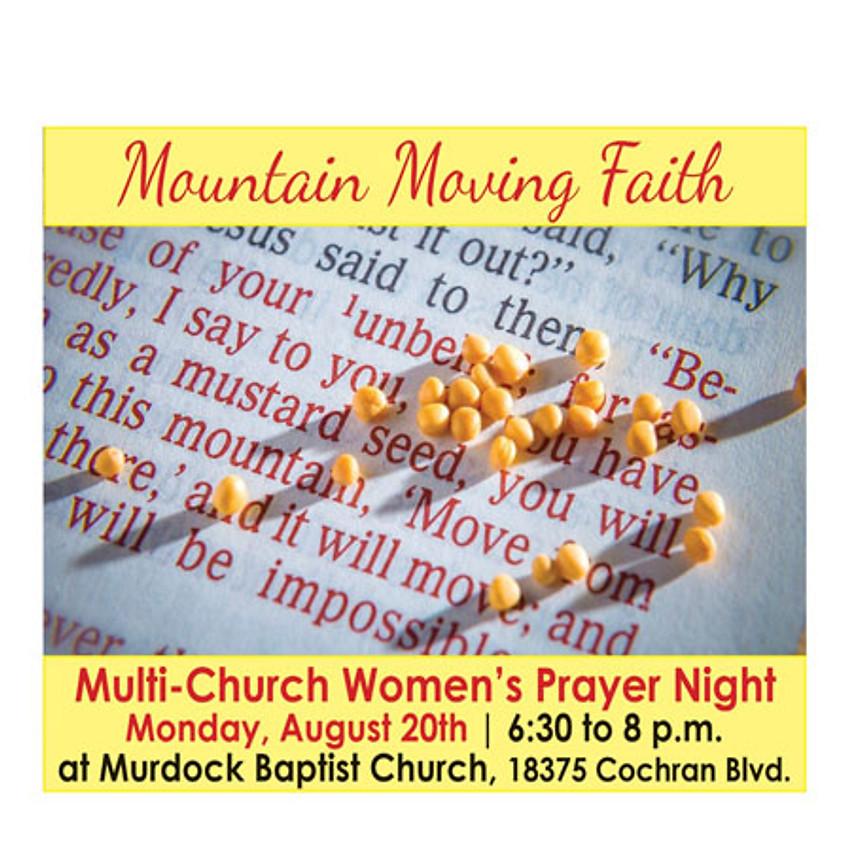 Multi-Church Women's Prayer Night