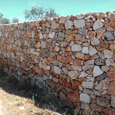 Muro a secco rustico cod. 07