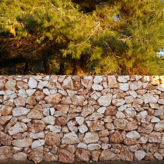 Muro a secco rustico cod. 14