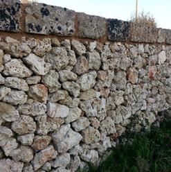 Muro a secco rustico cod. 03