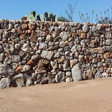 Muro con pietra invecchiata cod. 06