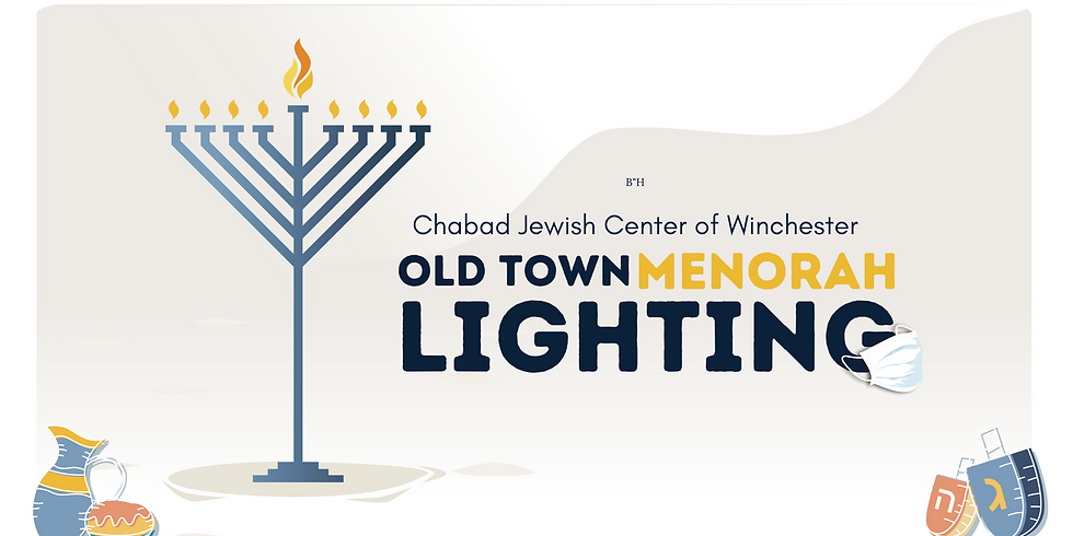 Chanukah Menorah Lighting in Old Town