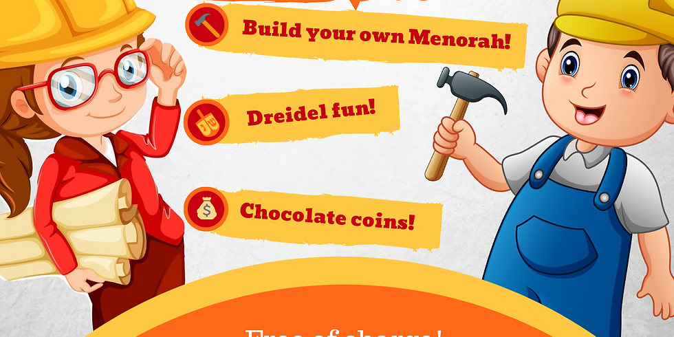 Menorah Workshop with Home Depot
