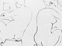 Sketch Book Drawing___Washing Time= slow