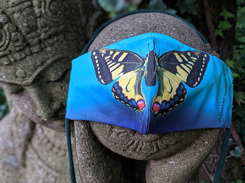 WIDE Eastern Tiger Swallowtail Facemask