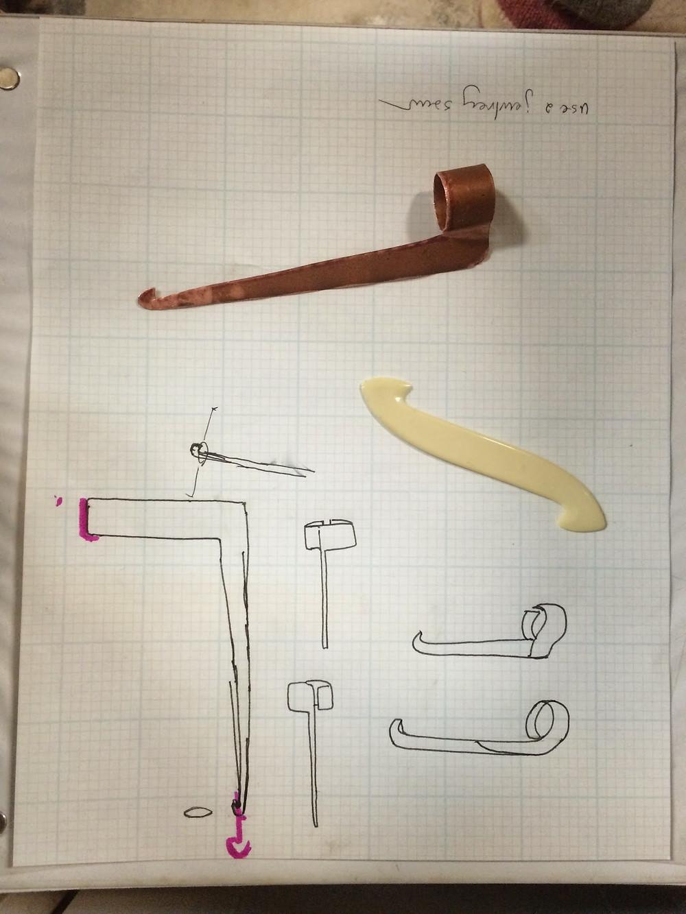 Picasa - finshed sleigh hook and drawings.jpg