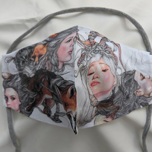 Chiharu Roach- ANIMALSPIRITS- Limited Edition Facemask