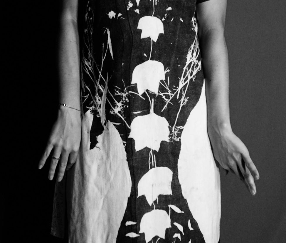 July Botanical Monoprint Clothing Photos
