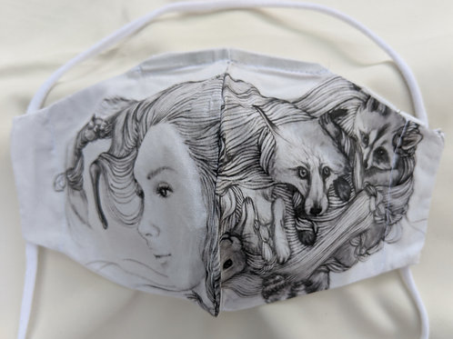 Chiharu Roach- FOX/RACOON/BUNNY- Limited Edition Facemask