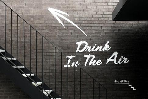 CEN DIVERSITY HOTEL & CAFĒ sign planning & graphicwork