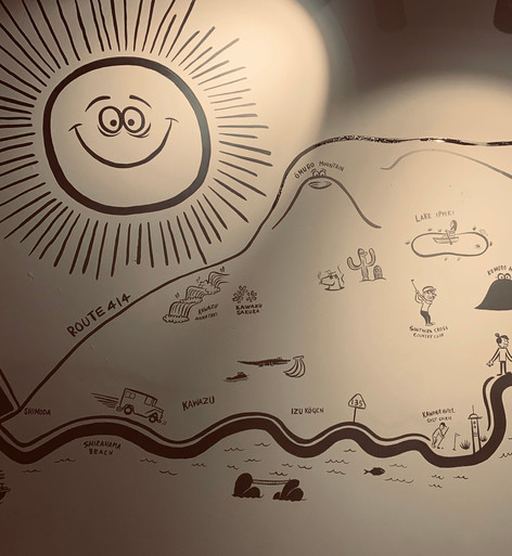 illustration map by Ryu ambe
