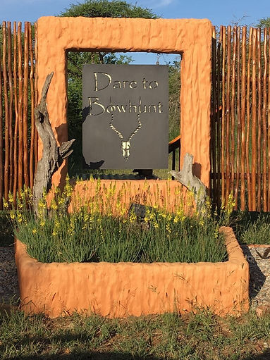 Entrance to Zululand lodge