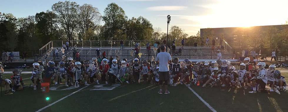 Kids withCoach on Lacrosse Field.jpg