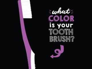 Что может рассказать цвет зубной щетки о ее владельце?