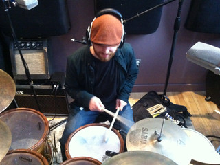 Recording Some Drums