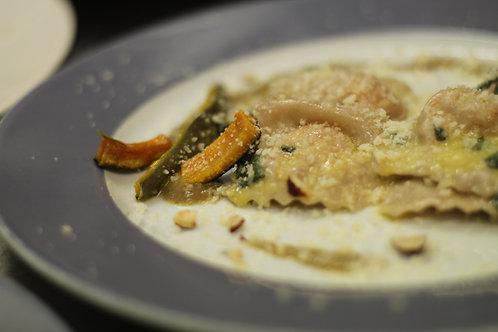 Pumpkin tortelli - filled pasta x 2