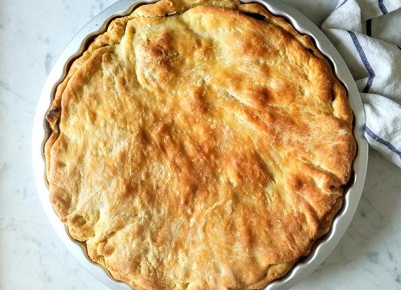 Seasonal savoury pie