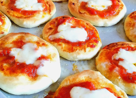 12 Mini Pizzette for party