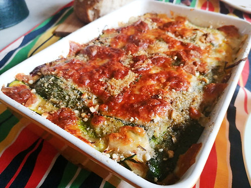 Seasonal greens Lasagne