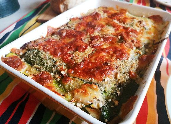 Seasonal greens Lasagne