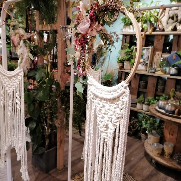 SPECIAL: Makramee Traumfänger im Flower Hoop!