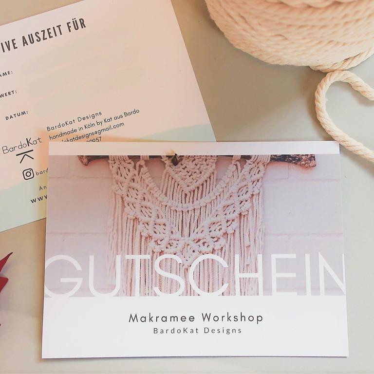 GUTSCHEIN Makramee Workshop