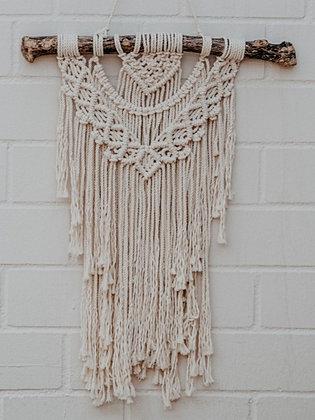 ALOHA BIG Wandbehang, vanilla