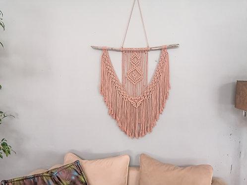 COCAROSA Wandbehang, altrosa