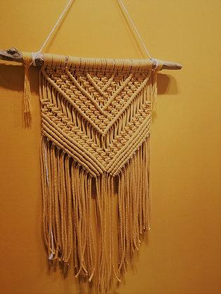 GROßER INDIANER Wandbehang, ginger